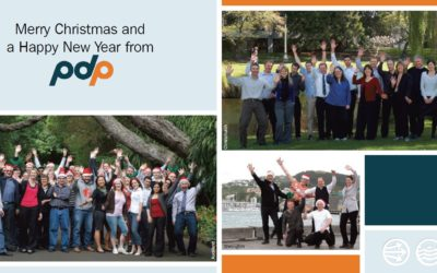 Christmas greetings from all at PDP