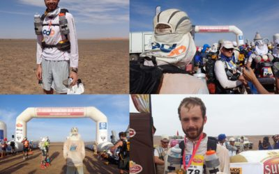 Congratulations to Matt Lillis who ran the Marathon des Sables