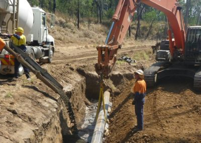 Queensland Gas Pipeline Erosion Protection Works