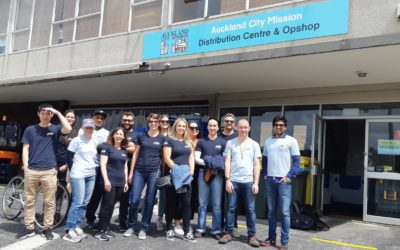 PDP Volunteers at Auckland City Mission