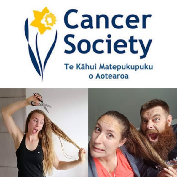 Annelise and Nadine Shave for a Cure