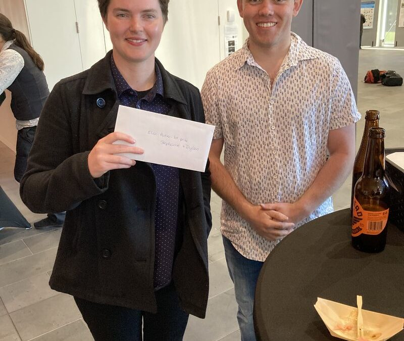 Soon to be Graduate Dylan Edwards takes First Prize
