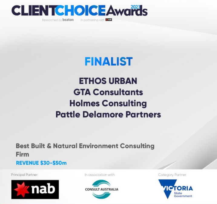 Best Built & Natural Environment Consulting Firm Award Finalists