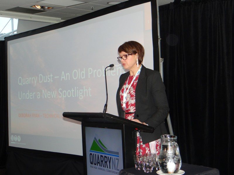 Deborah Ryan Presents Dust Control and Air Quality Monitoring Techniques at Quarry NZ Conference